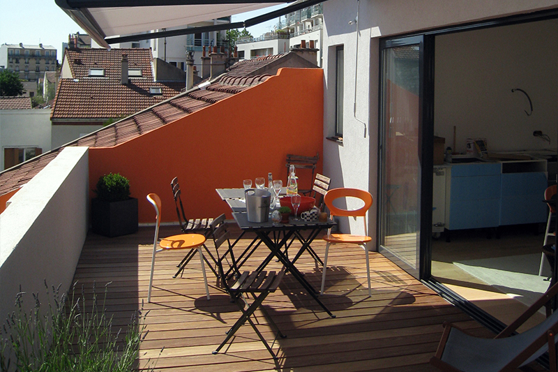 maison sur le toit atelier verfaillie lassailly architectes. Black Bedroom Furniture Sets. Home Design Ideas